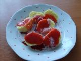 Krupicové knedlíky s jahodovou omáčkou recept