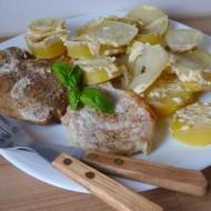 Vepřová pečeně zapečená s bramborem ve smetaně recept  Vareni ...