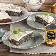 Hruškový koláč s mákem a krémem z mascarpone recept