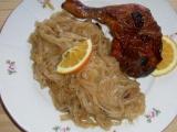 Kuře na medu a pomerančích recept
