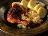 Kuře pečené k zelí a knedlíkům recept