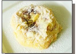 Tvarohové koláče s višňovou náplní recept