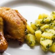 Kuřecí stehna bez koření recept