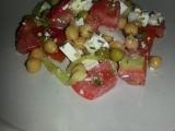 Salát s cizrnou recept