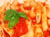 Rajčatovo-těstovinová večeře-rychlá recept