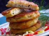 Bramborové placičky se sýrovo bylinkovou náplní recept ...