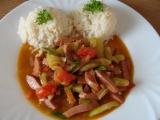 Cuketová čína s rýží recept