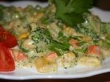 Zelenina s bešamelovou omáčkou recept