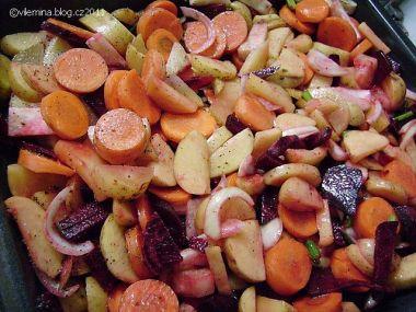 Pečená zelenina jako příloha od Vilemíny