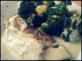 Pečená treska na másle s brokolicí recept