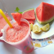 Melounová limonáda recept