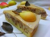 Hruškový koláč s mandlovou (pudinkovou) polevou recept ...