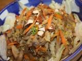 Salát z hlívy ústřičné s čínským zelím recept