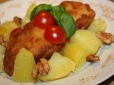Pangas v ořechovo-česnekovém kabátku recept