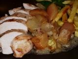 Kuře na jablkách a cibuli recept