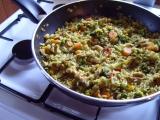 Rýže s hlívou recept