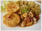 Rybí medailonky v zelenině recept