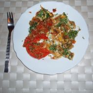 Provensálská rajčata s vejcem recept