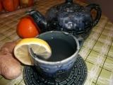 Zázvorový čaj s citrónem recept