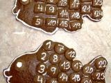 Adventní kalendář kapříci recept