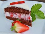Jednoduchý jahodový dort recept