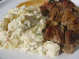 Bramborový salát se zakysankou a koprem recept