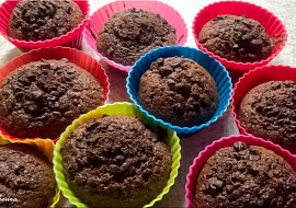 Výborné čokoládové muffiny recept