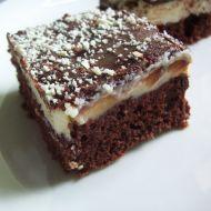 Kakaovo-tvarohový moučník s polevou recept
