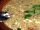 Chlebová polévka se slaninou recept