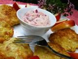Celerové lívance s jablečno-brusinkovou omáčkou recept ...
