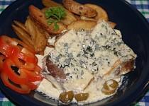 Křenová krkovička pečená s brambory recept