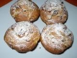 Jablečné muffiny s ořechy recept