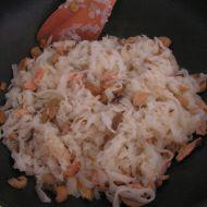 Rýžové nudle se zeleninou a kuřecím masem recept