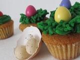 Velikonoční muffinky s bílou čokoládou recept