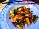 Mořská štika s čínským zelím Pak choi recept
