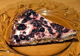 Zdravý celozrnný borůvkovo  tvarohový koláč (bez másla) recept ...