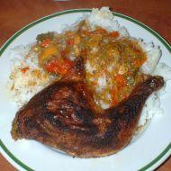 Kuře na kořenové zelenině recept
