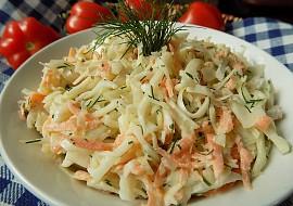 Zelný salát s mrkví a koprem recept