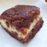 Kakaový strouhaný koláč s tvarohem recept