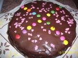 Mrkvový koláč s kakaem recept