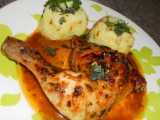 Kuřecí stehna v oregánovo-čili marinádě recept