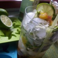Ananasové mojito recept