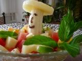 Ovocný salát s vaječným koňakem recept