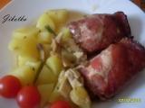 Zapečené kuřecí závitky recept