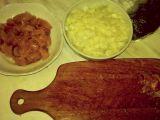 Kousky kuřecího masa s rýží recept