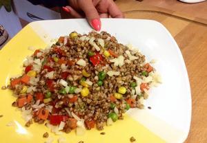 Zeleninové pohankové rizoto
