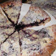 Kynutý borůvkový koláč recept