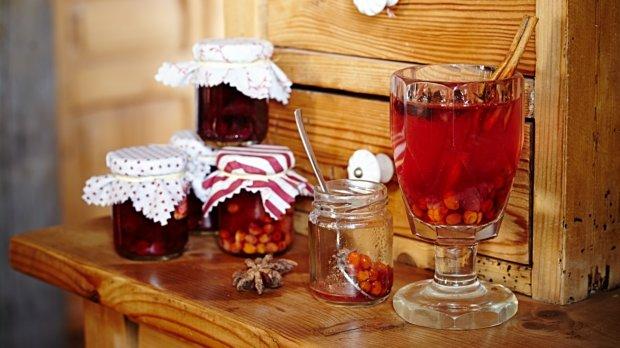 Pečený čaj na zahřátí