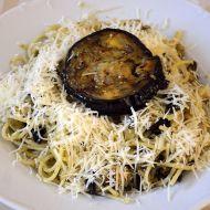 Grilovaný lilek se špagetami recept