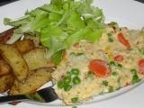 Treska zapečená s máslovou zeleninkou recept